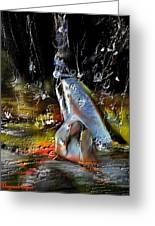 Abstract 1 Greeting Card by Francoise Dugourd-Caput