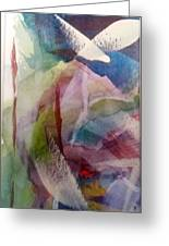 Abstract 1 - Series Panel 1 Greeting Card