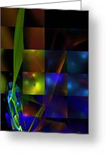 Abstract 101413 Greeting Card