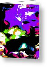Abstract 104 Greeting Card