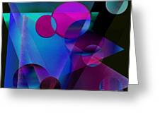Abstract 105 Greeting Card