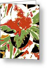 Abstract 109 Greeting Card