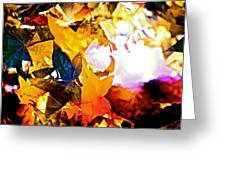 Abstract 111 Greeting Card