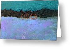 Abstract #128 Greeting Card