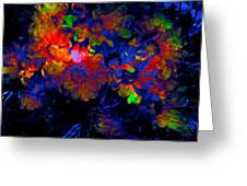 Abstract 129 Greeting Card
