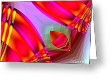 Abstract 134 Greeting Card