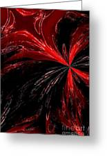 Abstract 139 Greeting Card