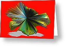 Abstract #140810 - Untitled  Greeting Card