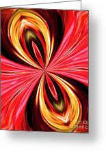 Abstract 151 Greeting Card