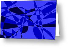 Abstract 153 Greeting Card
