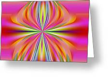 Abstract 153 Greeting Card