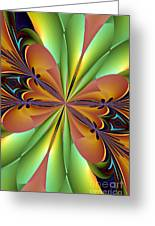 Abstract 159 Greeting Card