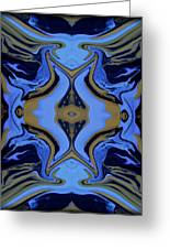 Abstract 162 Greeting Card