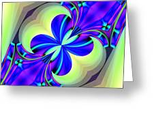 Abstract 167 Greeting Card