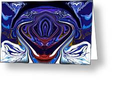 Abstract 171 Greeting Card