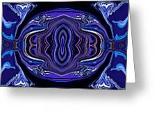 Abstract 172 Greeting Card by J D Owen