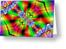 Abstract 172 Greeting Card