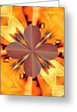 Abstract 180 Greeting Card