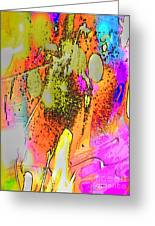 Abstract 2 Greeting Card