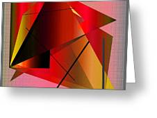 Abstract 2010 Greeting Card