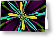Abstract 222 Greeting Card