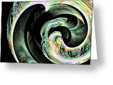 Abstract 291 Greeting Card