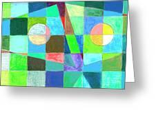 Abstract 3 Greeting Card