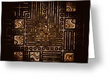 Abstract 326 Greeting Card