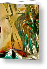 Abstract 3635 Greeting Card
