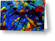 Abstract 39 Greeting Card