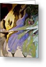 Abstract 3909 Greeting Card