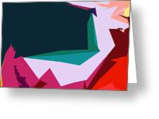 Abstract 4-2013 Greeting Card