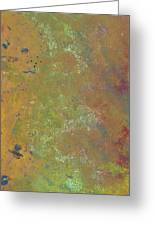 Abstract 4 Greeting Card by Corina Bishop
