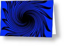 Abstract #4 Greeting Card