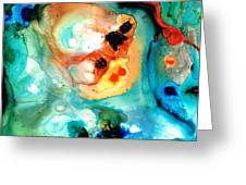 Abstract 5 - Abstract Art By Sharon Cummings Greeting Card