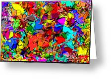 Astratto - Abstract 50 Greeting Card