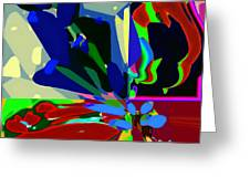 Abstract 52 Greeting Card