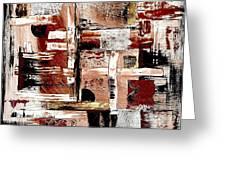 Abstract 524-11-13 Marucii Greeting Card