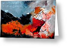 Abstract 553101 Greeting Card