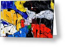 Abstract 55315080 Greeting Card