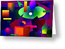 Abstract 74 Greeting Card
