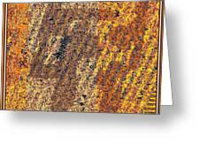 Abstract 878 Greeting Card