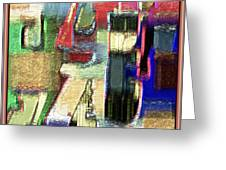 Abstract 927 Greeting Card