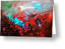 Abstract 975231 Greeting Card