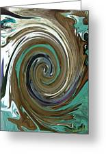 Abstract Abby Greeting Card