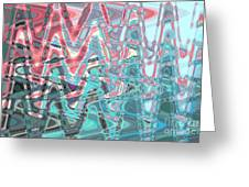 Abstract Approach Iv Greeting Card