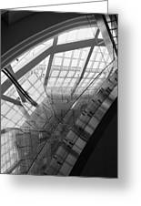 Abstract Architecture #2 Greeting Card