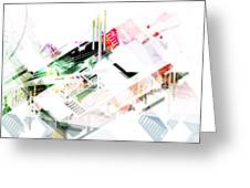 Abstract Architecture Space Greeting Card