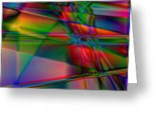 Lineage - Square Abstract Print Greeting Card