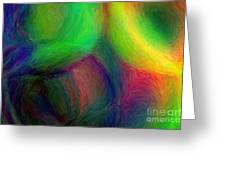 Journey - Abstract Art Greeting Card